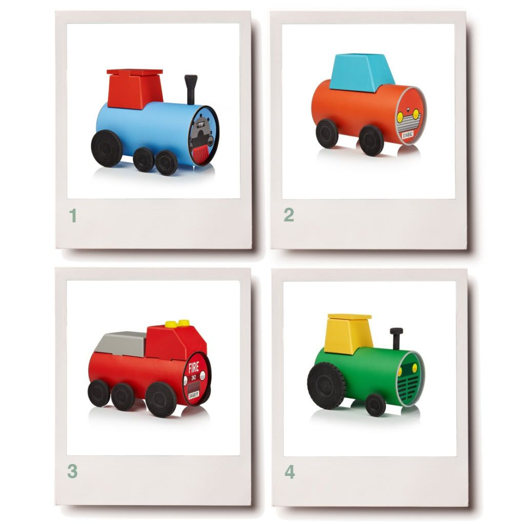 Car Craft For Kids Part - 19: Tube Toys Toy Packaging Design For Kids Childrenu0027s Toys Tractor Car Fire  Engine Truck Train Green