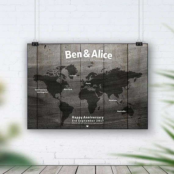 Bucket list travel map world map personalised map travel gift bucket list travel map world map personalised map travel gift wall art gumiabroncs Choice Image
