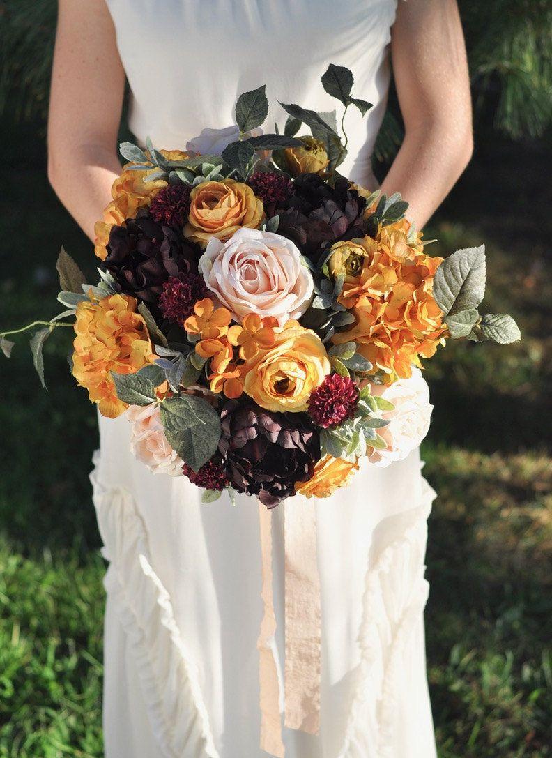 Wedding bouquet, wedding flowers, bridal flowers, yellow