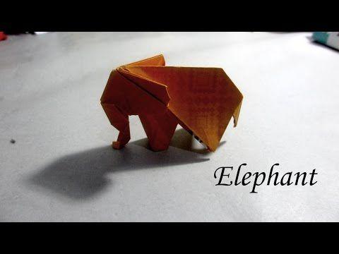 How to make Origami Elephant ( sipho mabona ) - YouTube | 360x480