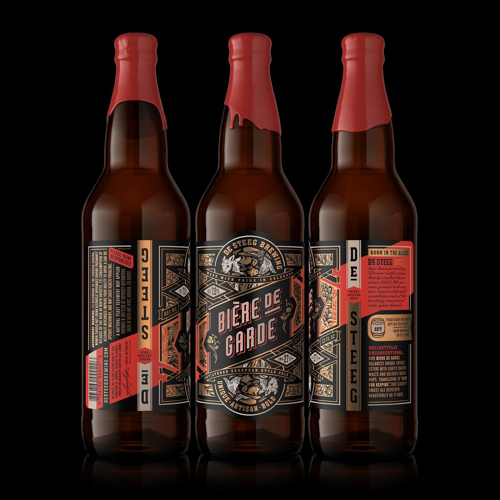 De Steeg Brewing Beer Packaging Beer Brands Beer