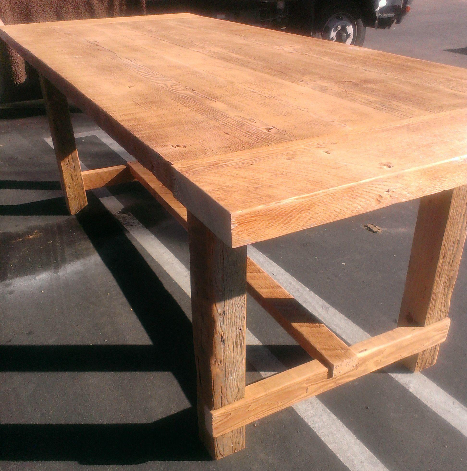 Reclaimed Douglas Fir Dining Room Table
