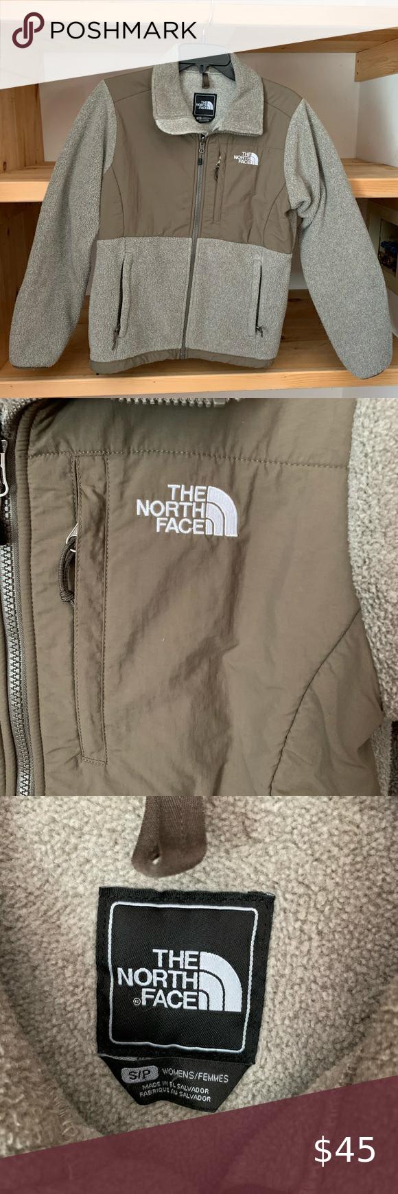 The North Face Denali Jacket Tan Briwn The North Face North Face Jacket Dark Brown Color [ 1740 x 580 Pixel ]