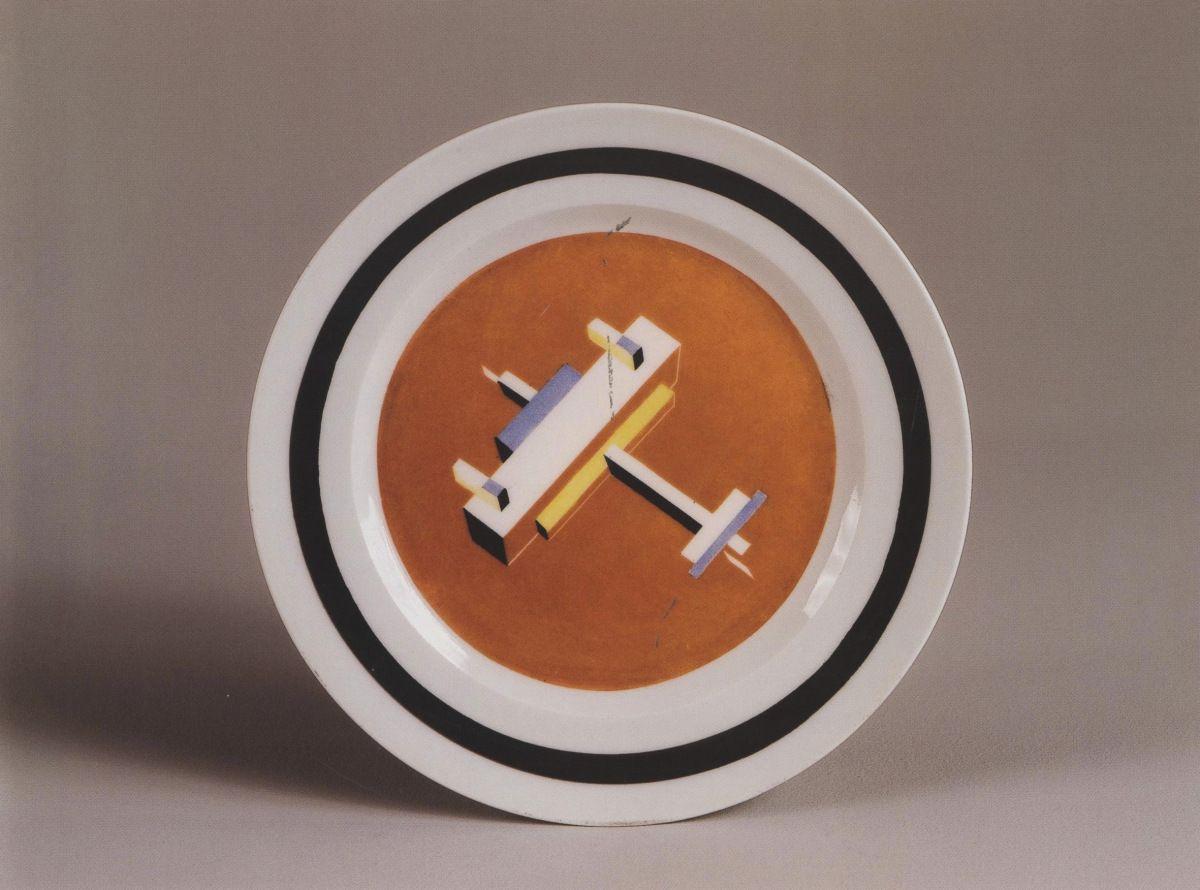 Nikolai Suetin, Suprematist #plateware (1922-1928)