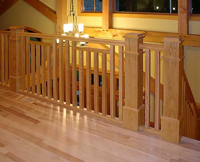 Best Mission Style Staircase Banister New Buffalo Mi 640 x 480