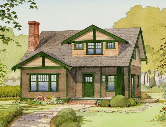The bungalow company the small homes collection but not green and beige uck