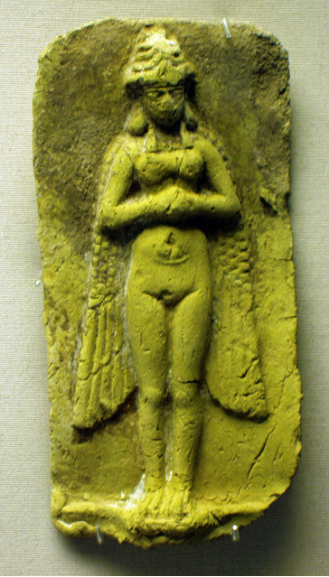 Inanna Ishtar Is The Sumerian Goddess Of Sexual Love