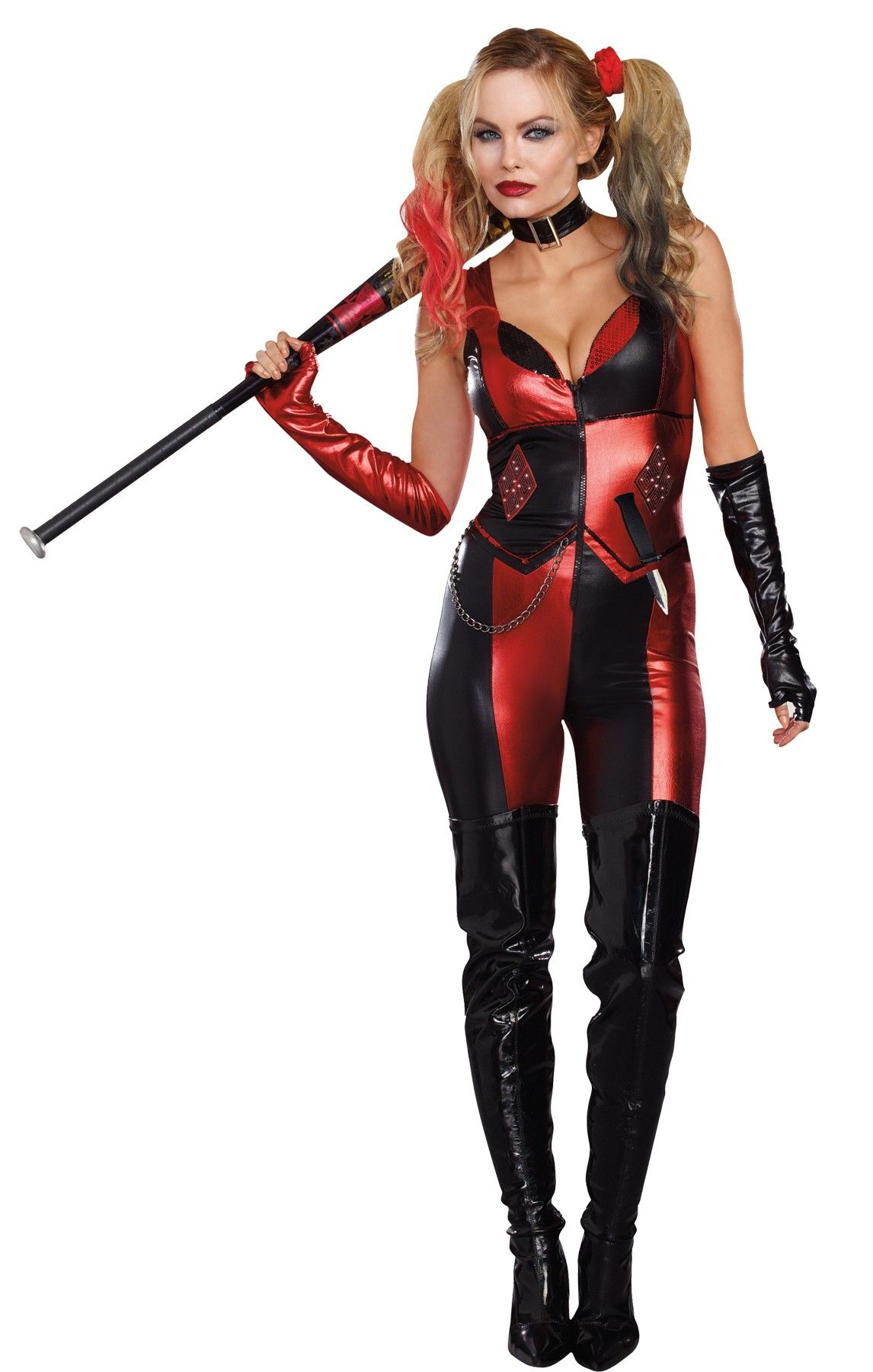 Party King Women/'s No Good Harlequin Shaper Costume