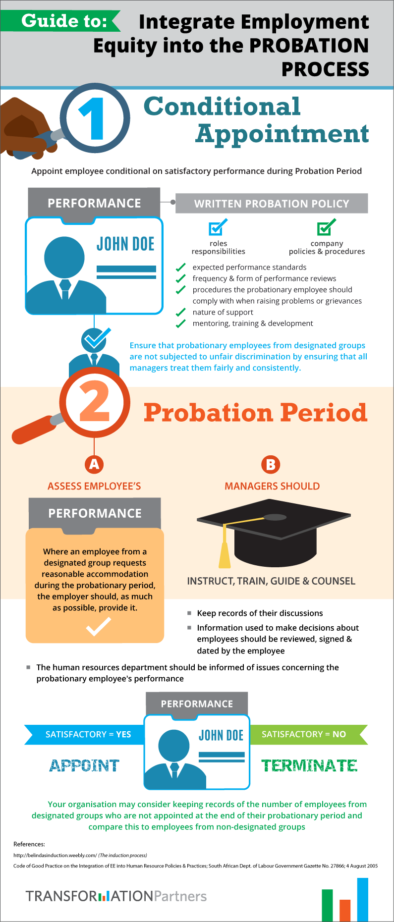 Integrating Employment Equity into the Probation Process