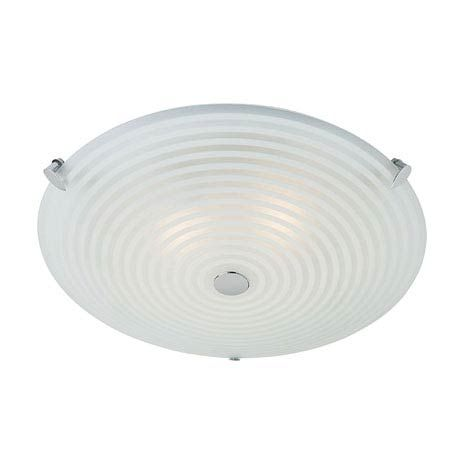 Endon roundel ceiling acid glass with swirl light fitting 633 32