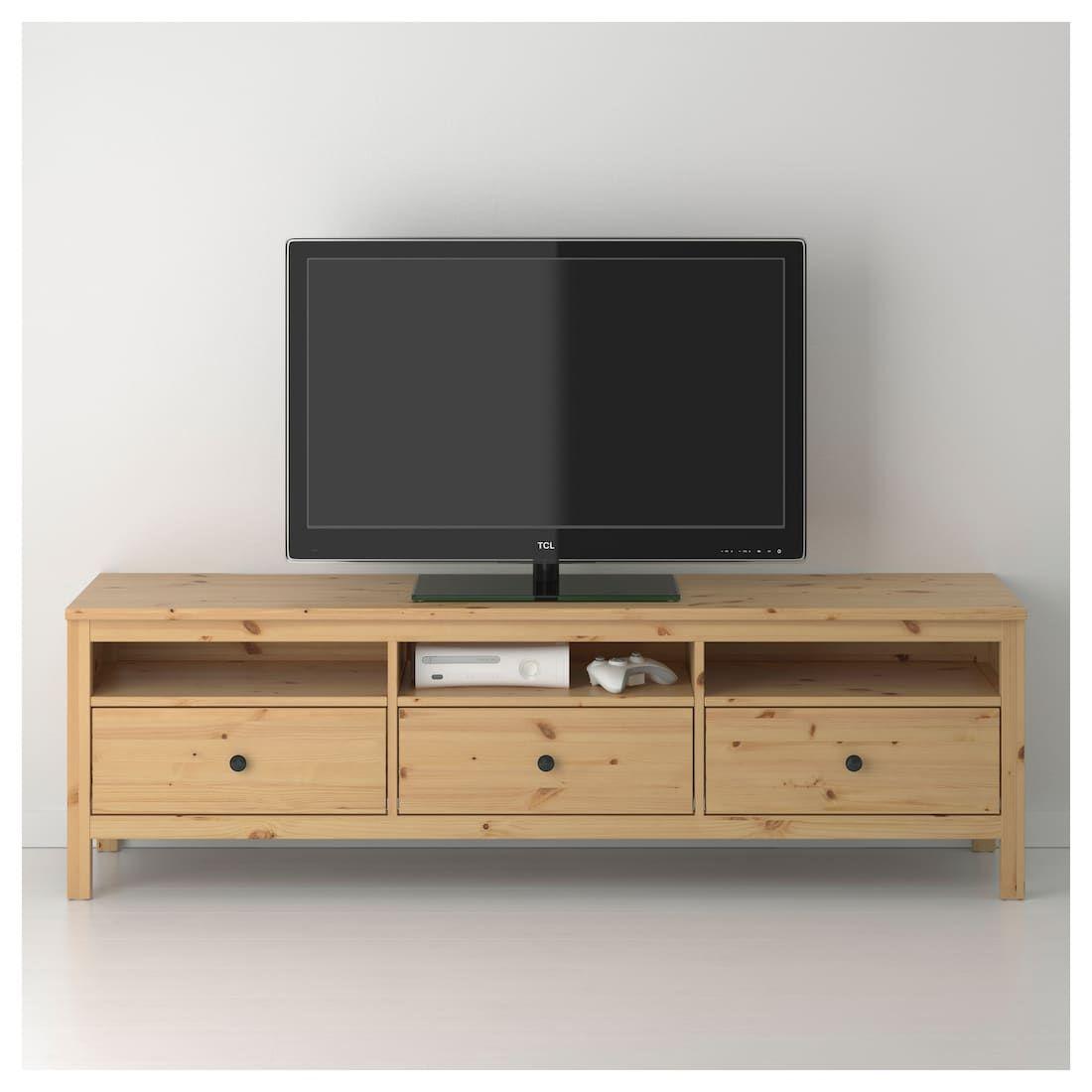 Hemnes Tv Unit Light Brown 72x18 1 2x22 1 2 Hemnes Ikea Evler