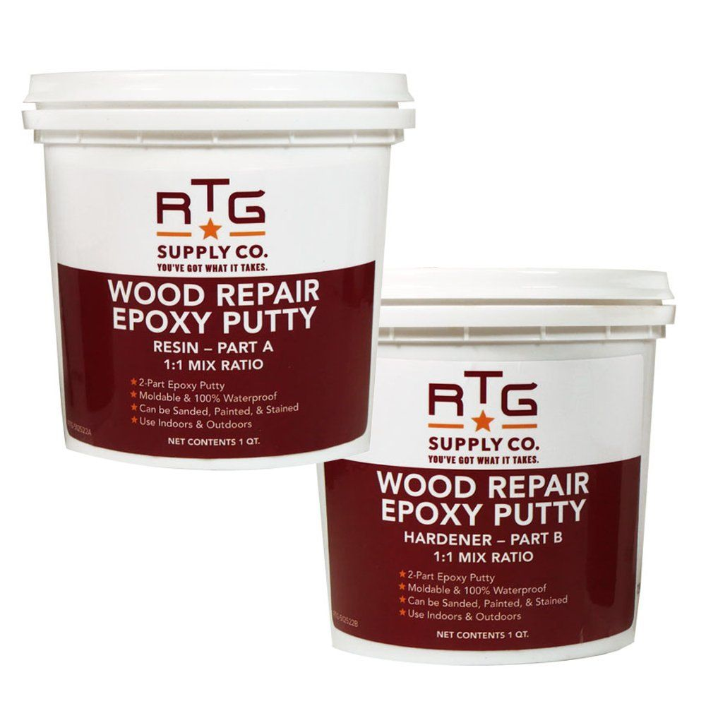 RTG Wood Repair Epoxy Putty (2-Quart Kit) ** More info could