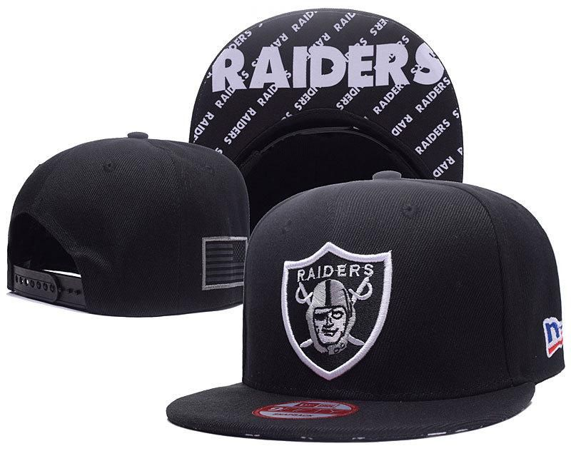 brand new d0748 629f7 Men s Oakland Raiders New Era 9Fifty NFL Crafted in America Snapback Hat -  Black