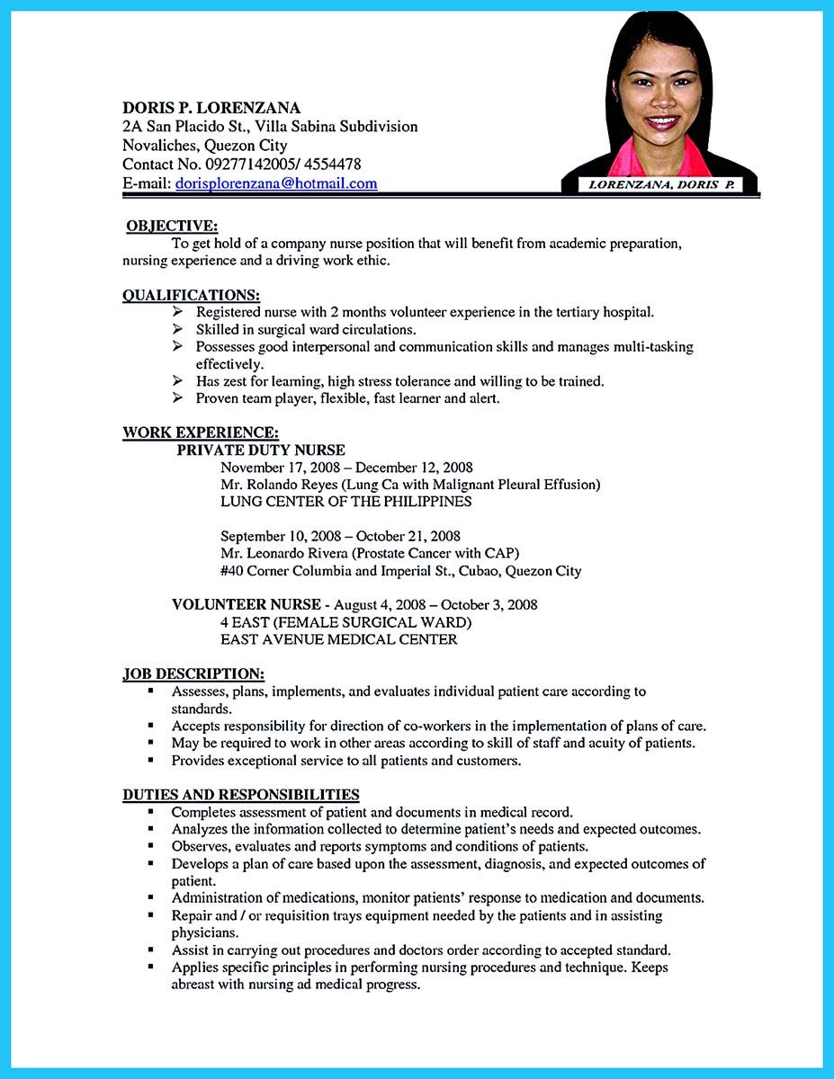 awesome Perfect CRNA Resume to Get Noticed by Company