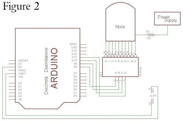 how to control a nixie tube with an arduino  with images