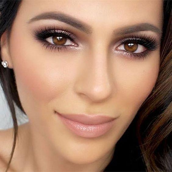 Makijaż Ślubny: 24 Modne Inspiracje na Make-Up dla Panny Młodej