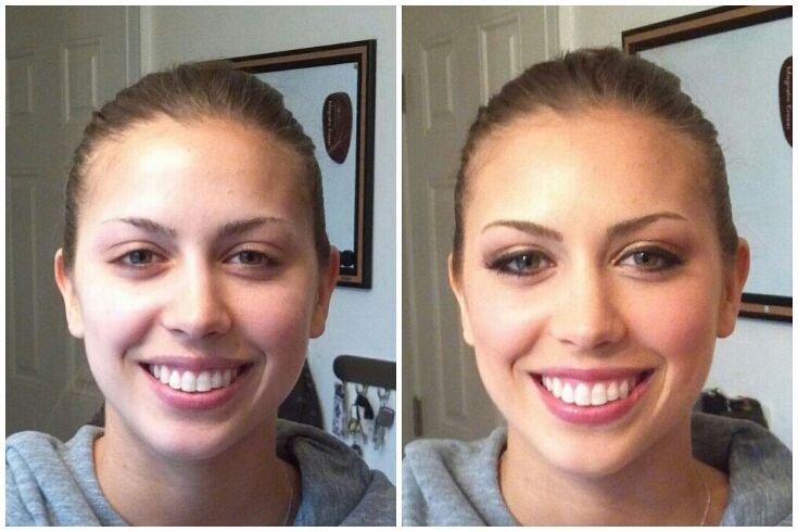 Wedding Day Makeup Before And After : Wedding Makeup Before And After Pictures - Mugeek Vidalondon