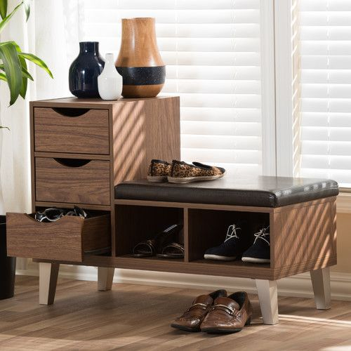 Sperling Faux Leather Storage Bench Leather Storage Bench Bench With Shoe Storage Entryway Bench Storage