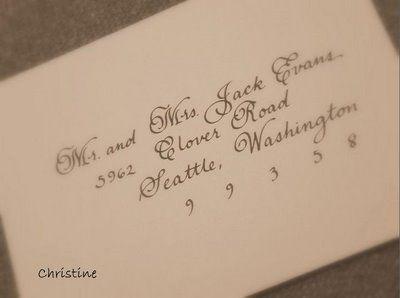 Wedding Envelope Addressing Etiquette for Outer Envelope Only ...