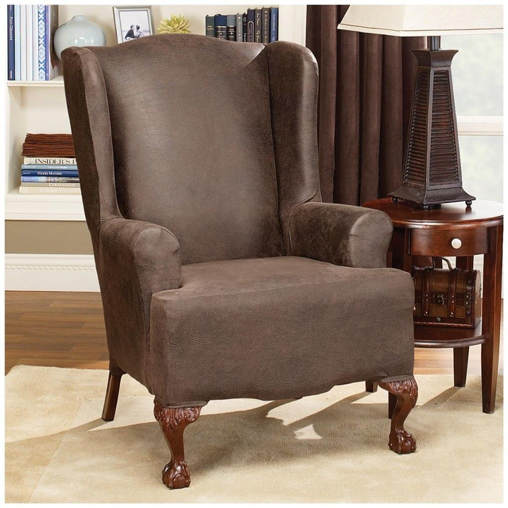 recliner stretch buy lift slipcovers chair sure pd pique now at slipcover brookstone fit