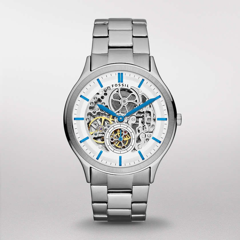 FOSSIL® Watch Styles Mechanical Watches:Men Ansel Stainless Steel ...