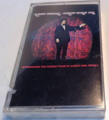 Comedy Minus One by Albert Brooks (Cassette, 1973, RCA (Label))