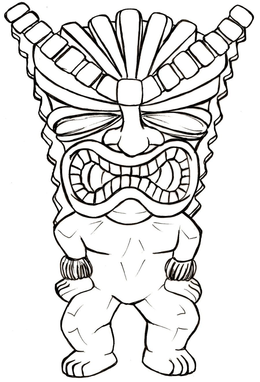 Money Tiki Man Tattoo By Metacharis On DeviantART