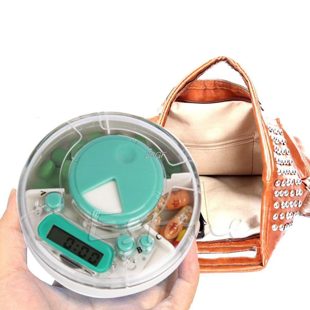 2017 Digital Pill Box Timer Alarm Clock Reminder Medicine Organizer Aid Vhp221 Productschina Bte Hearing Amplifier Container Case Jul10 35