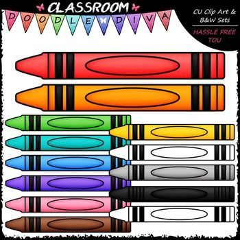 FREEBIE Crayon Page Toppers Clip Art - Crayons Clip Art #clipartfreebies I love offering freebies as a way of saying thank you to all my wonderful customers. I sure would appreciate it if you'd show some love and leave me feedback! :) This 13 piece FREEBIE set comes with 12 colored clip art and 1 black and white image (black lines with a white fill) as shown in the th... #clipartfreebies