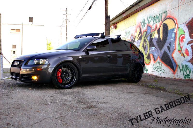 Lava Grey With Blacked Rims Again Audi Wagon Black Audi Audi A3