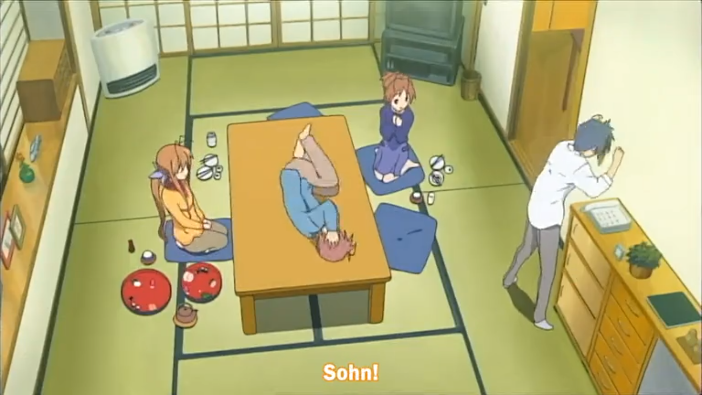CLANNAD just a normal family XD
