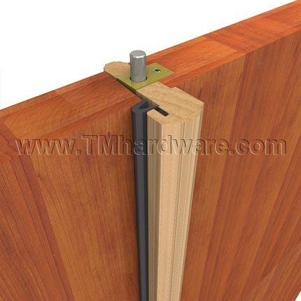 Locking Wood Meeting Stile with 7