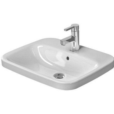 Duravit Durastyle Ceramic Rectangular Vessel Bathroom Sink With