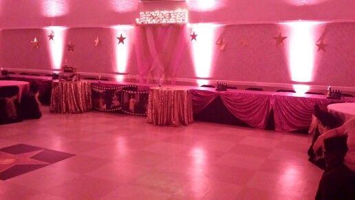 Final touch...hot pink lighting!