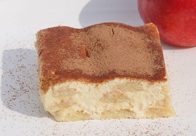 Mit diesem Rezept zaubern Sie eine tolle Variation des italienischen Klassikers. Das Apfeltiramisu mit Stevia passt hervorragend in die moderne Küche.