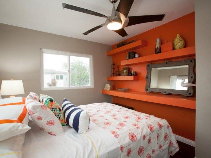 100 Space Saving Small Bedroom Ideas | Arancio bruciato