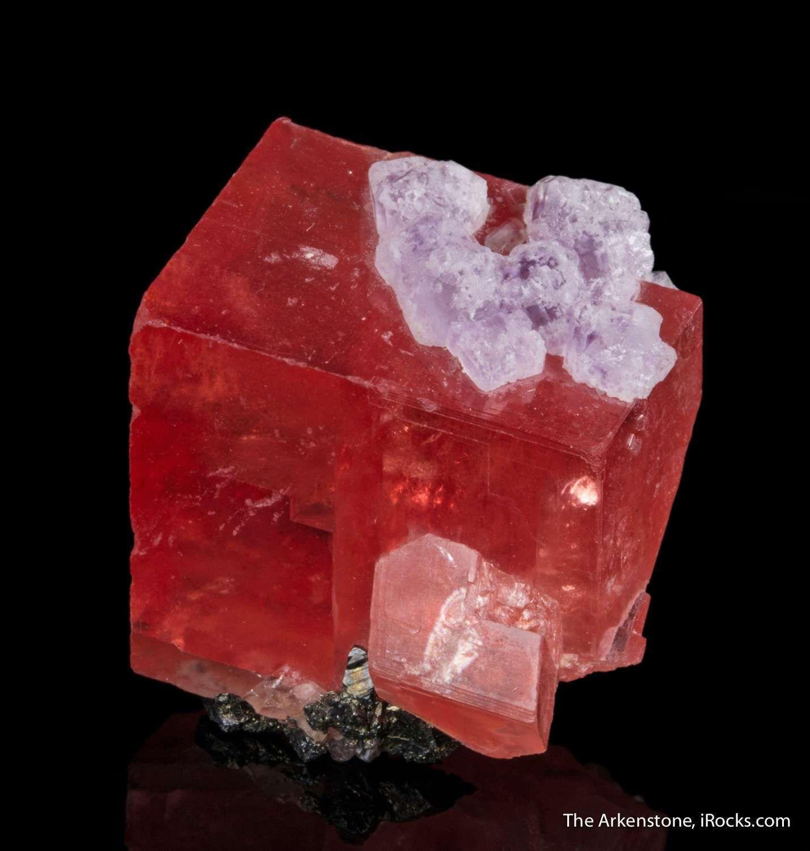 Rhodochrosite With Fluorite Sweet Home Mine Alma Park County Colorado USA