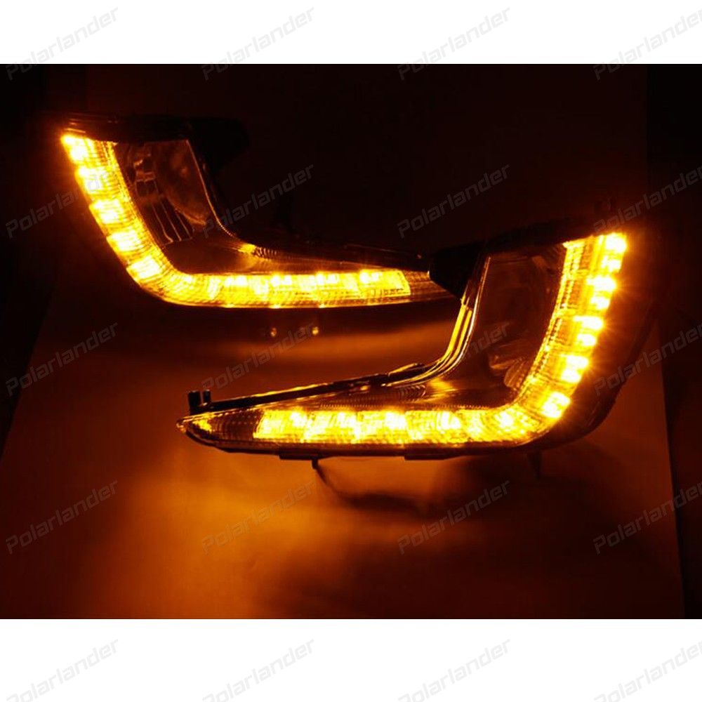 hot selling 2 pcs car accessory Daytime running lights car styling for  K/ia K/2 R/IO 2011-2013
