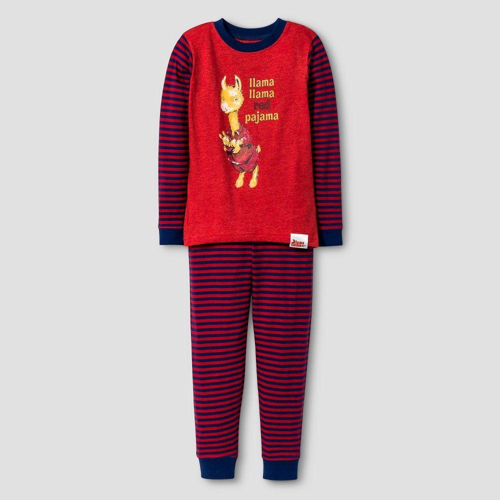 Toddler Boys' Llama Llama Long Sleeve Tight Fit 2Piece