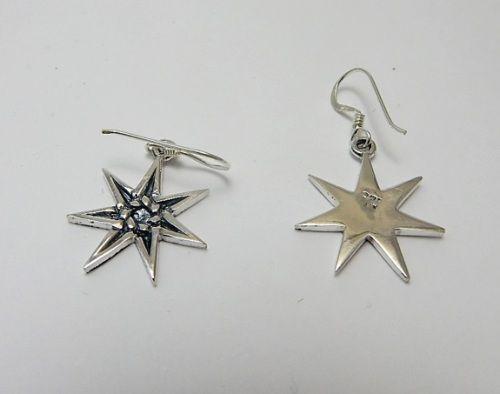 Elven Faerie Star silver fairy heptogram necklace seven sided star sterling .925