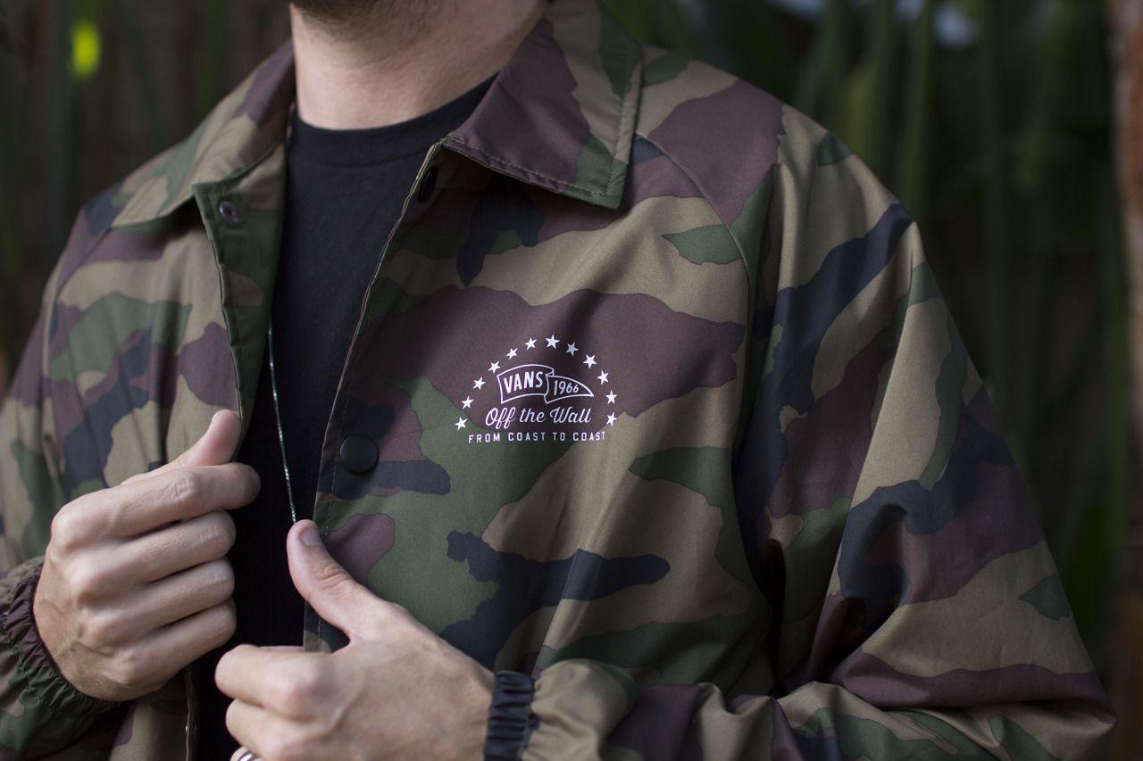 0d154f162d1 Vans — Put our Camo Torrey Coaches Jacket on your...