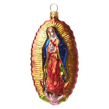 Lady Of Guadalupe Ornament, 31€, now featured on Fab.