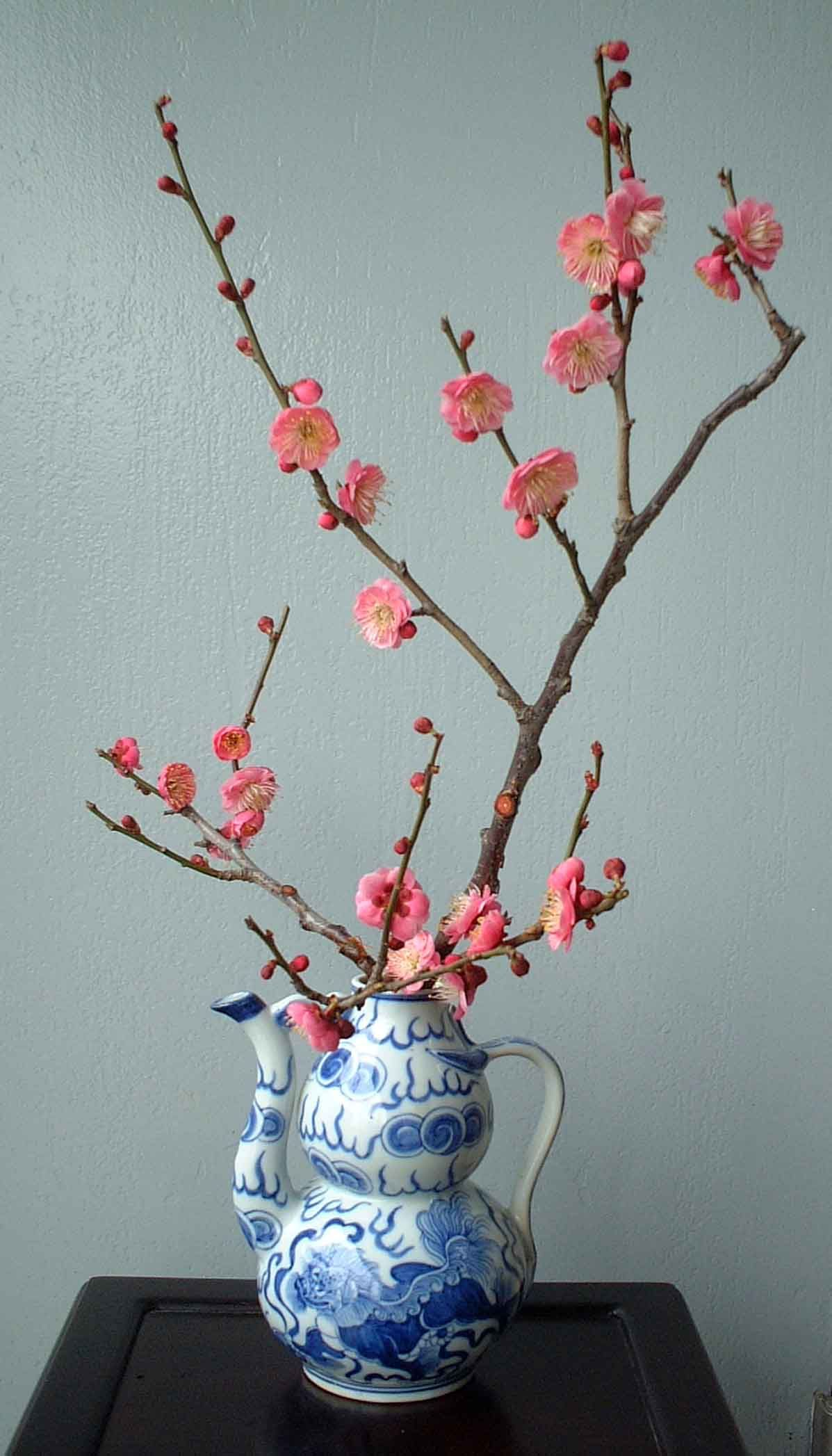 Cherry blossom week ikebana origami flower