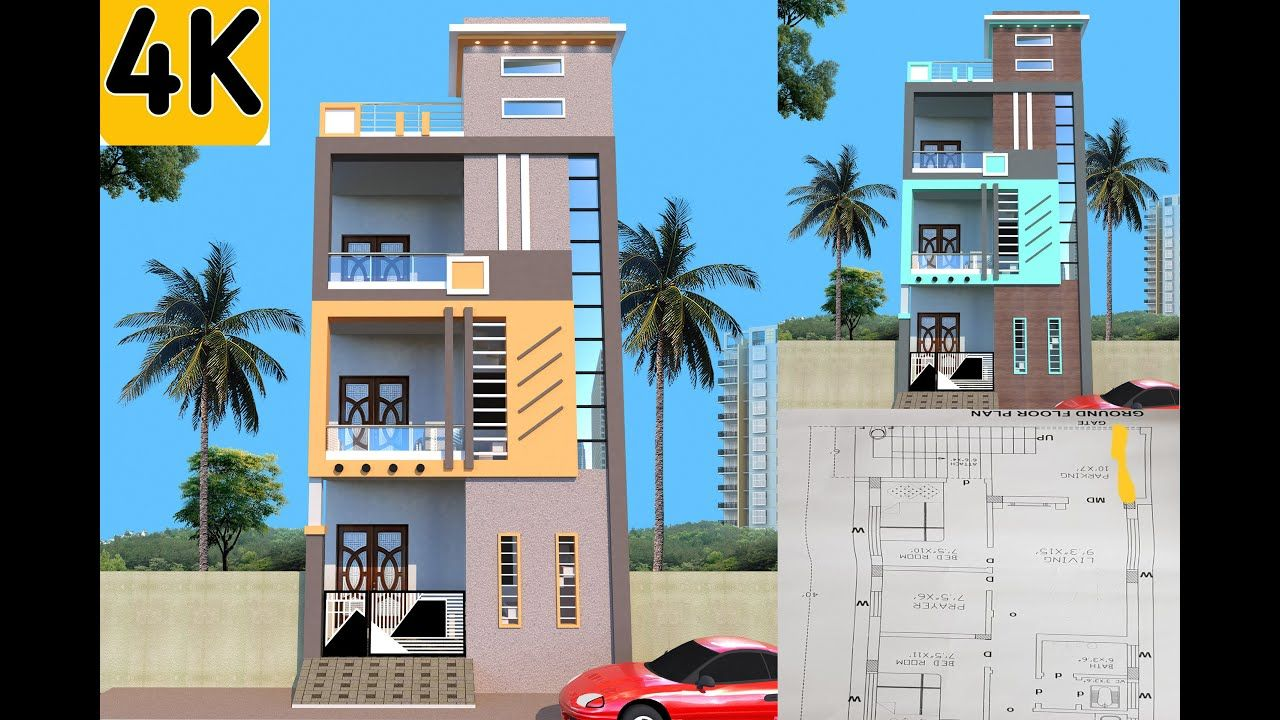Best Elevation Designs For 2 Floor House Double Floor
