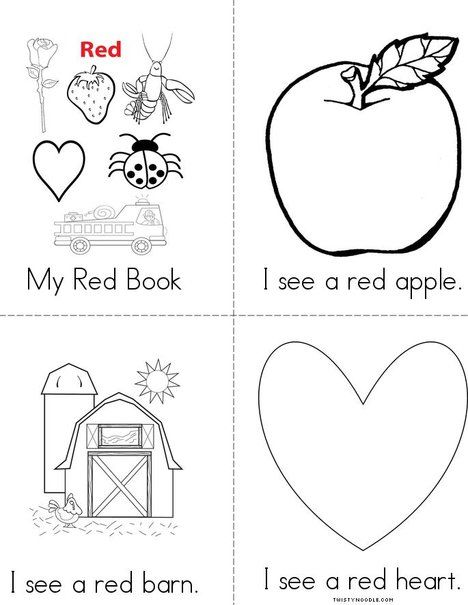 My Red Book from TwistyNoodle.com