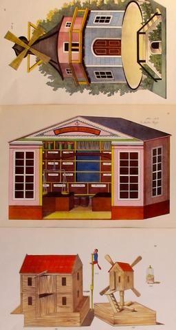 1870s Original Planche(s), Toy + Dollhouse Designs, S/3 - Unknown