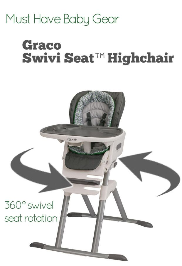 swivel high chair baby wwe ppv collection graco swivi seat highchair athomewithgraco ad gear