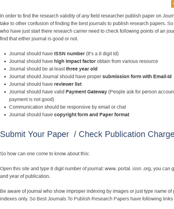 Pin By Navin Gohite On Best Journals To Publish Research Papers Journal Publication Publishing Journals Research Paper