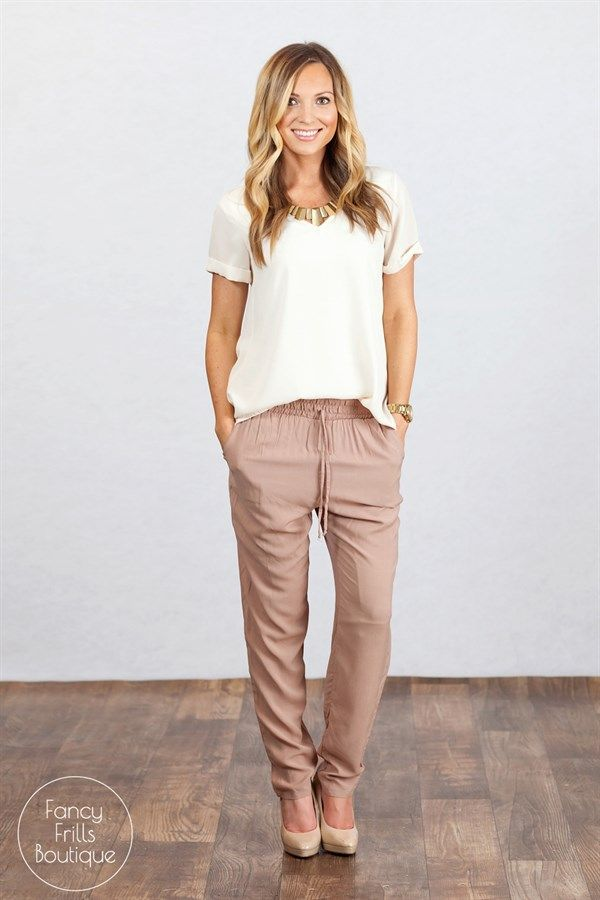 Perfect Spring Linen Jogger Pants Women S Clothing