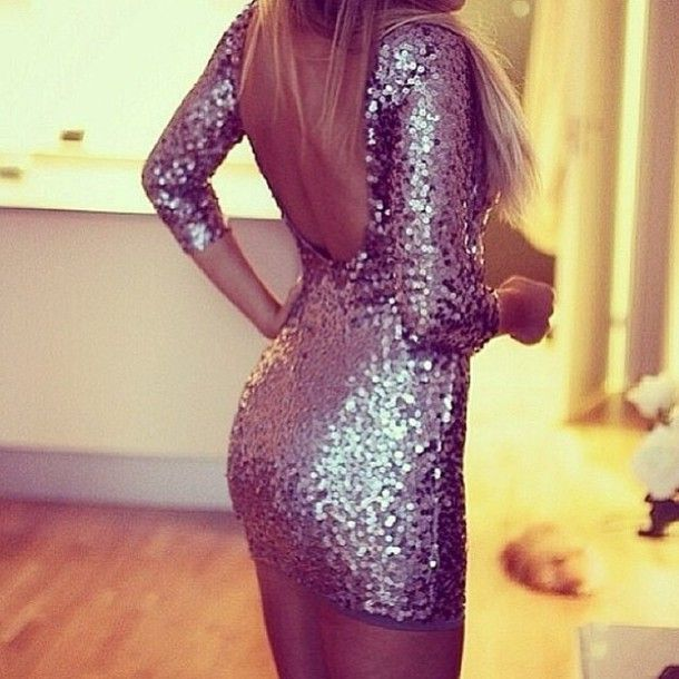 Long sparkly dress tumblr